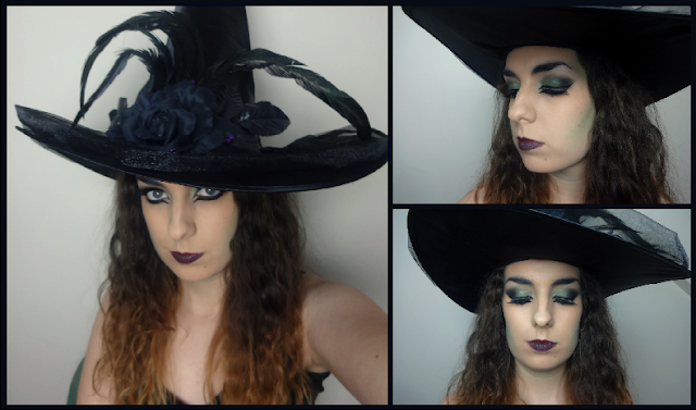 green-witch-makeup-look