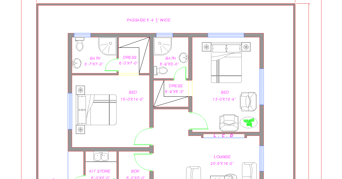 Image Result For Guest House Floor Plans