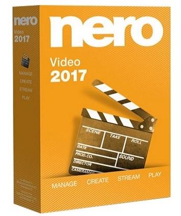 Nero Video 2017 18.0.00800 poster box cover