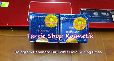 Deoonard 7 Days Hologram Original Gold Kuning Emas