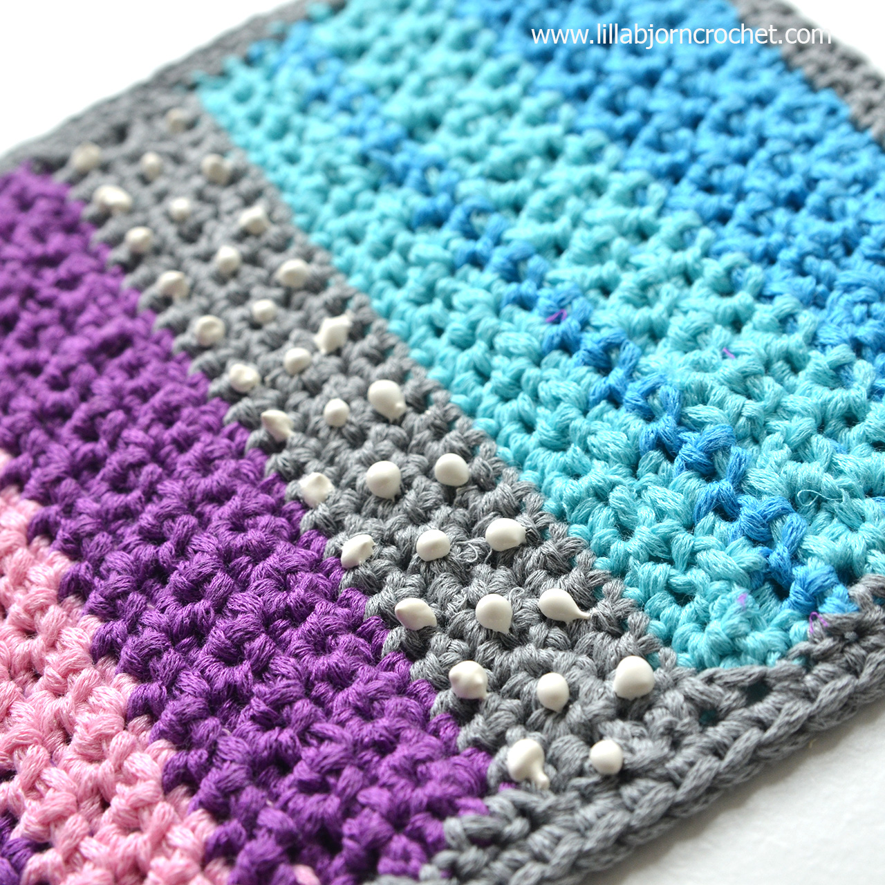 3 ways to make your hand made rug non slip. Review by Lilla Bjorn Crochet