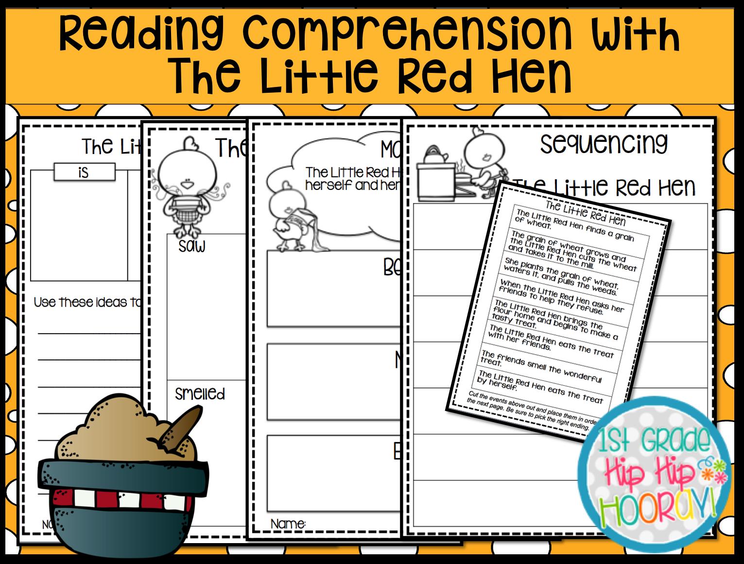 1st Grade Hip Hip Hooray Building Comprehension