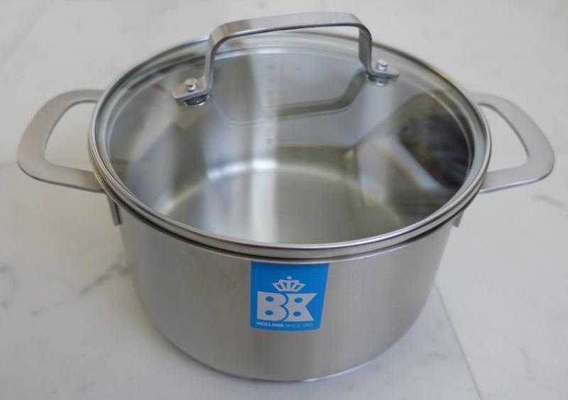 Albert Heijn BK bistro set pans glass lid handles