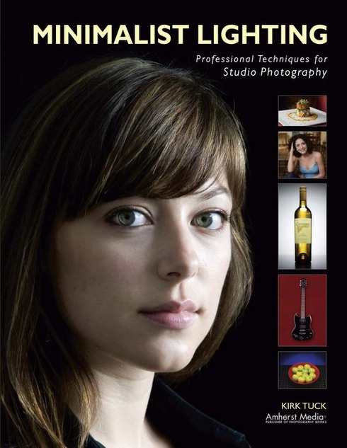 Portada libro: Minimalist lighting : professional techniques for studio photography