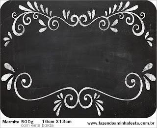 Blackboard Style, Free Printable Labels.