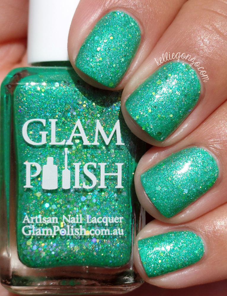 Glam Polish Down That Rabbit Hole