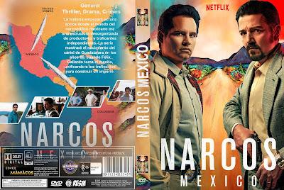 CARATULA - [SERIE NETFLIX ] NARCOS: MEXICO - 2018