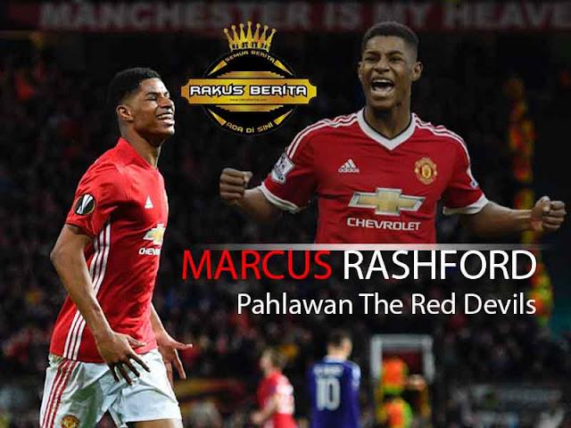 Rashford Antar MU Ke Semifinal Liga Europa