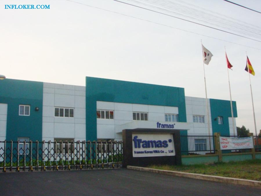 Lowongan Operator Produksi PT. Framas Plastic Technology ( Cikarang )