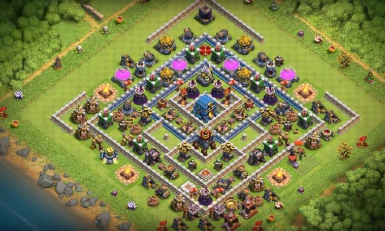 Base Farming Th 12 Legend 10
