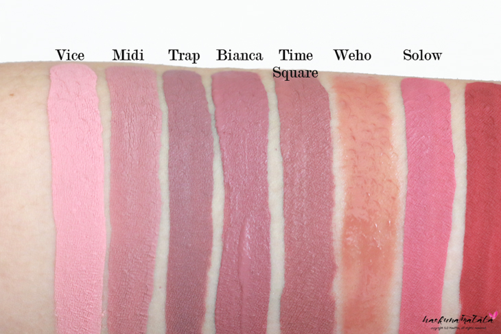 My ColourPop Ultra Matte Lip Collection Swatches & Review: Vice Midi Trap Bianca Time Square Weho Solow Bumble Tulle Love Bug More Better Avenue LAX