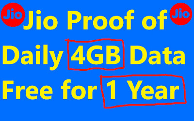 jio 1 year free with proof