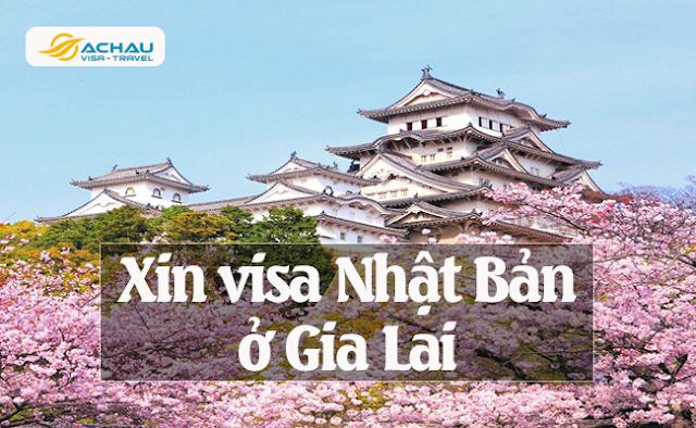 Xin visa Nhật Bản ở Gia Lai