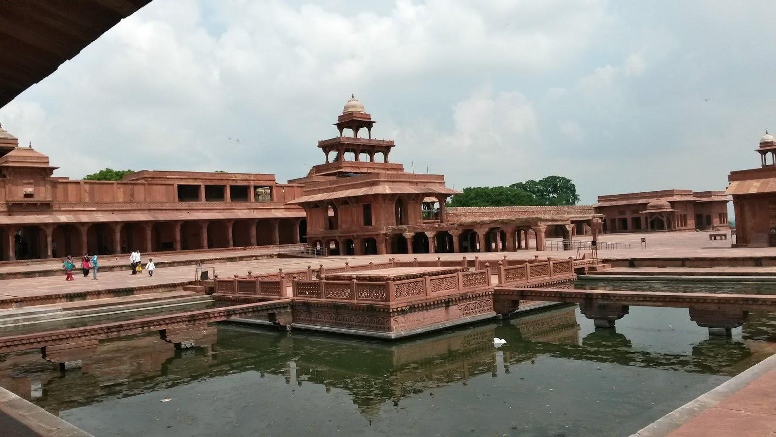 anup talao fatehpur sikri agra hindistan india