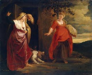Nomes bíblicos de menina: letra S (Imagem: Sara e Agar - Rubens)