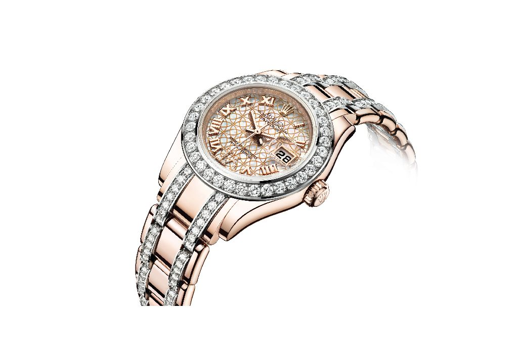 14fac0db4c0 ROLEX OYSTER PERPETUAL LADY-DATEJUST PEARLMASTER (New Model in 18ct ...