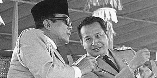 Soeharto, presiden yang gemar bertapa