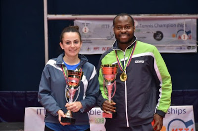 PHOTO: Nigeria's Aruna Quadri Finally Wins First African Tennis Championship