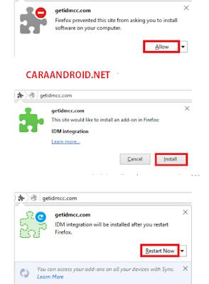 Cara Mengaktifkan Ekstensi IDM di Mozilla Firefox TERBARU