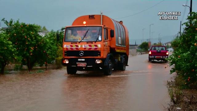 1,45 εκατ. ευρώ σε δήμους του Νομού Κορινθίας για την αποκατάσταση των καταστροφών
