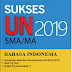 Soal UN SMA 2019 Mata Pelajaran Bahasa Indonesia
