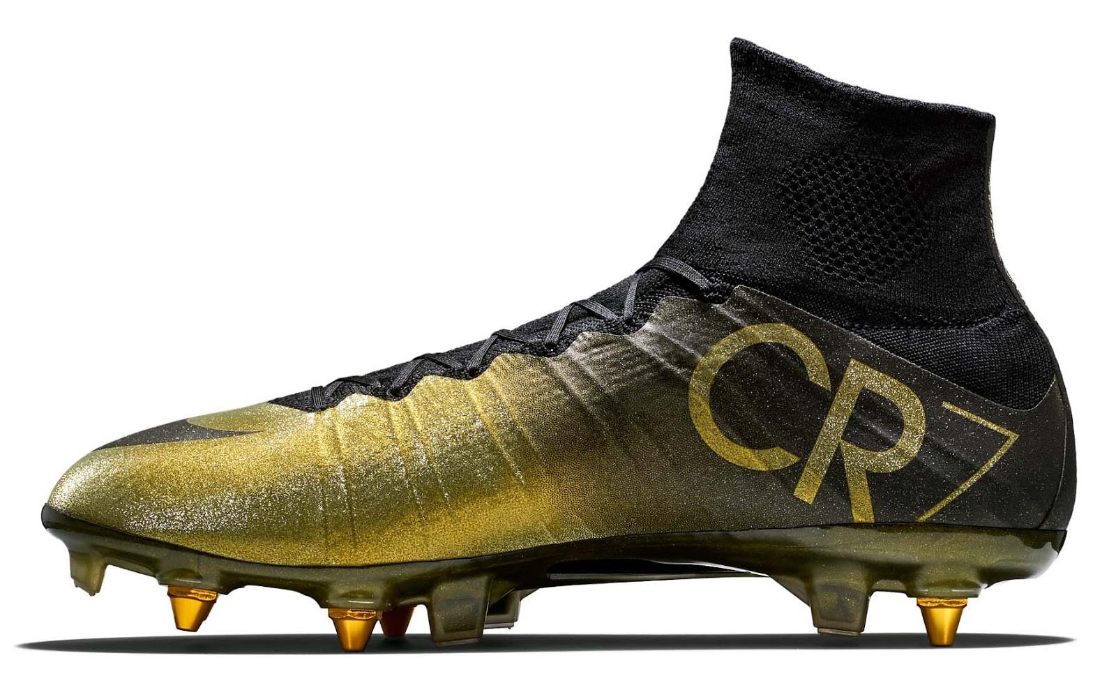2014 - Cristiano Ronaldo - Nike Mercurial Superfly CR7 Rare Gold