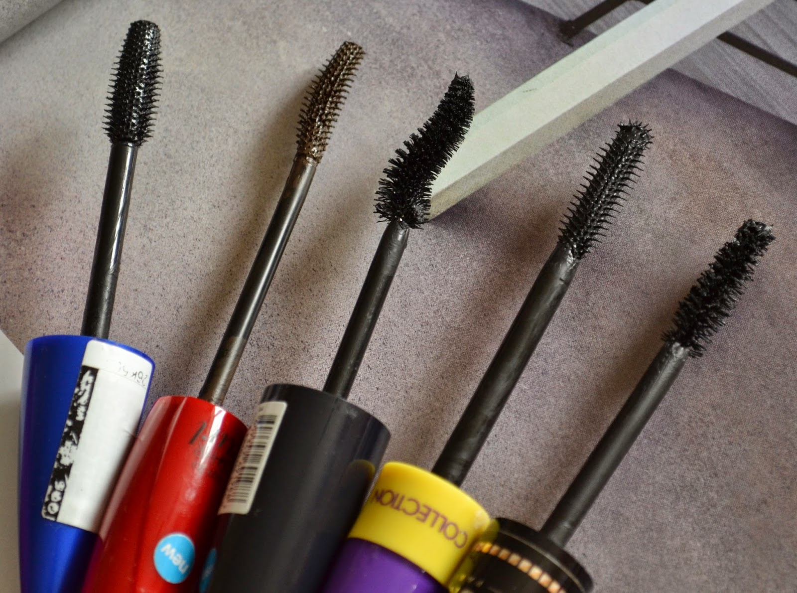 Rimmel, Collection, Seventeen, Bourjois, Maybelline Mascara - Beauty by Eff