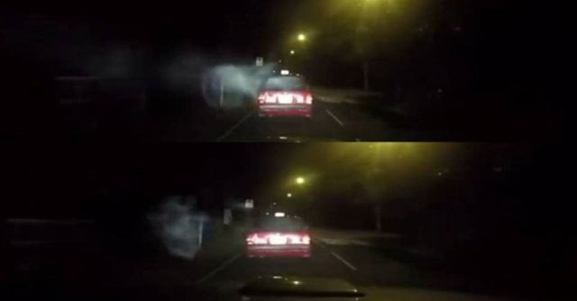 Hong Kong Taxi hit by Supernatural Being Entity