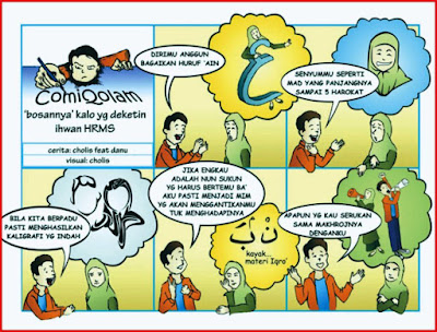 contoh komik cerita islami 2