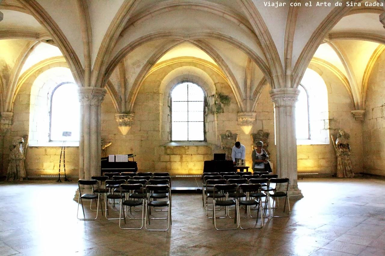 sala capitular Alcobaça