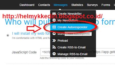 Membuat Email Berlangganan untuk List Building
