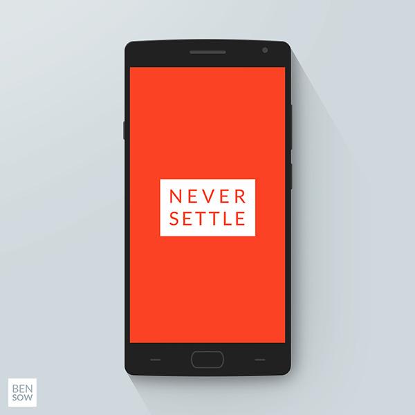 Smartphone & Tablet Mockup PSD Terbaru Gratis - OnePlus 2 PSD Mockup V2