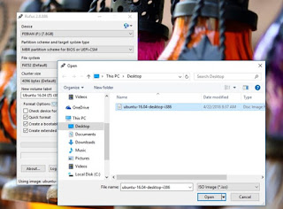 Cara Membuat Bootable USB Flashdisk Linux Ubuntu di Windows