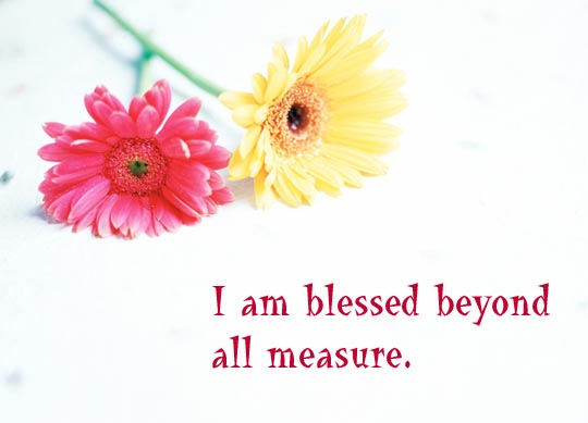 I Am Blessed A&B: I am bless...