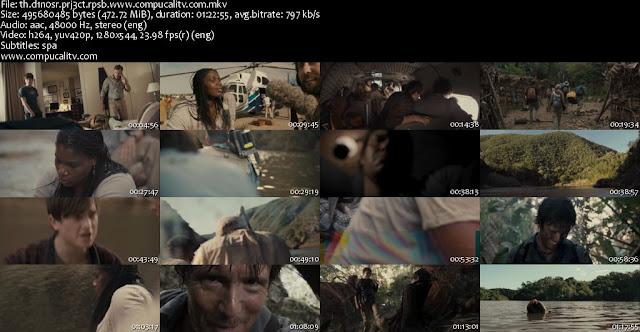 The Dinosaur Project DVDRip Subtitulos Español Latino Película 2012