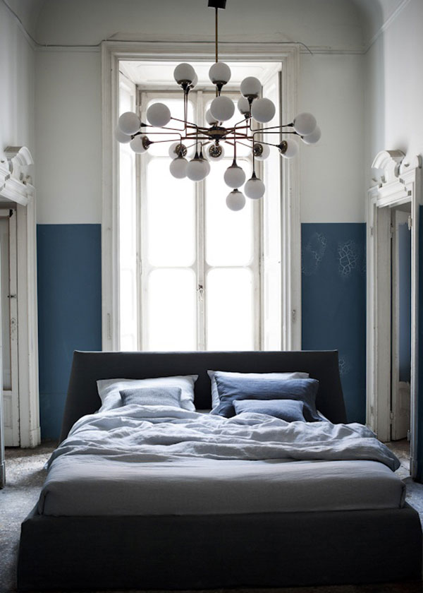 idea to steal: half-painted walls on apartment 34