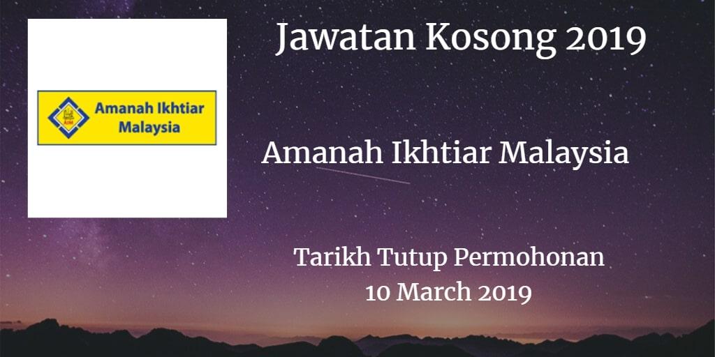 Jawatan Kosong AIM 10 March 2019
