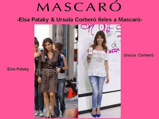 ELSA PATAKY & URSULA CORBERÓ CON DISEÑOS MASCARÓ. DIVINAS ¡¡