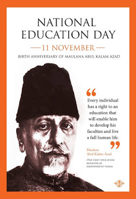 National Education Day: 11 November 2017