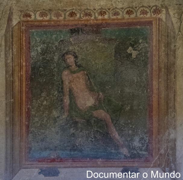 Casa Degli Amorini Dorati, Pompeia, Itália