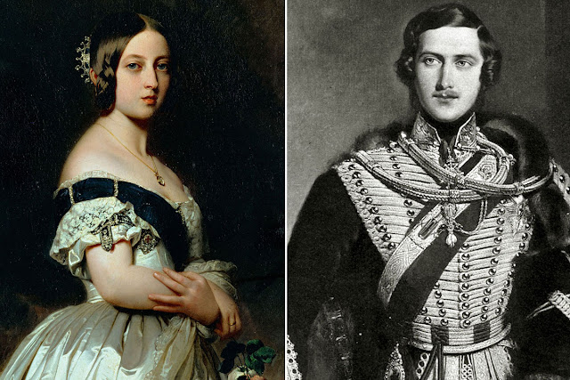 Kisah Cinta Queen Victoria dan Prince Albert
