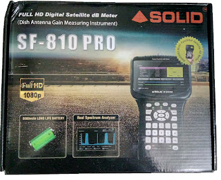 SOLID launching upgrade model of SF-810PRO digital sat finder