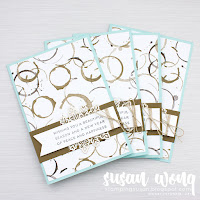 Hearts Come Home Stamps + Coffee Break Papers - Susan Wong