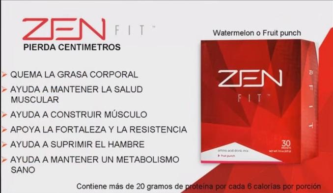 productos zen para bajar de peso