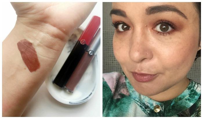 Giorgio Armani Smoky Neutral Eye Tints & Eccentrico Mascara