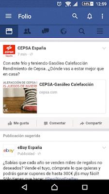 YoAndroideo.com: Mejorando la experiencia de Facebook con Folio for Facebook