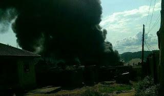 Tanker Explodes and Killed One Person Along Zango Daji Adavi Local Government