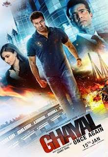 Ghayal Once Again (2016) - Poster - www.allmoviesonglyrics.in