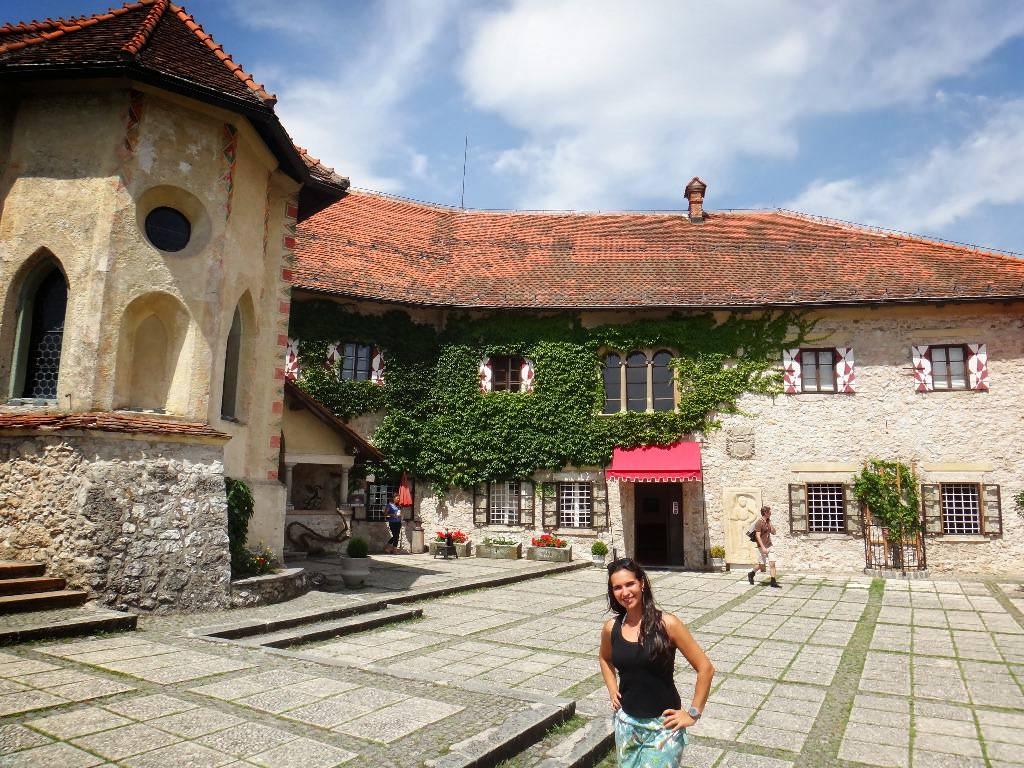 Castelo de Bled na Eslovênia