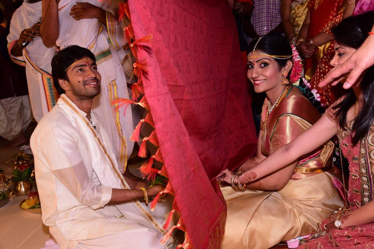 Allari Naresh Wedding Stills